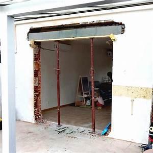 devis ouverture mur porteur entreprise ma onnerie devis With agrandir une porte dans un mur porteur