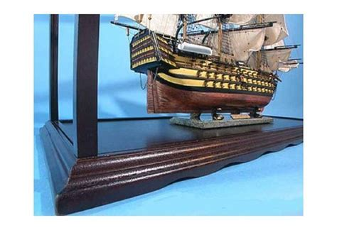 Wooden Display Case for Tall Ship Model