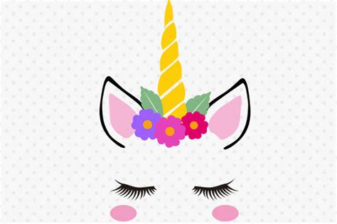 Unicorn Face, Unicorn Face Svg, Unicorn Head Svg, Unicorn