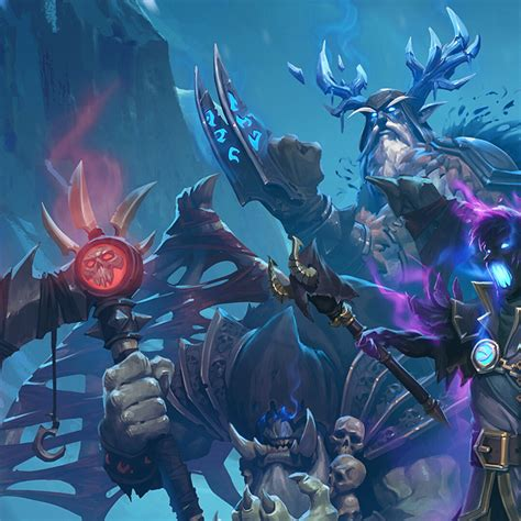 hearthstone knights of the frozen throne tips second wing edition