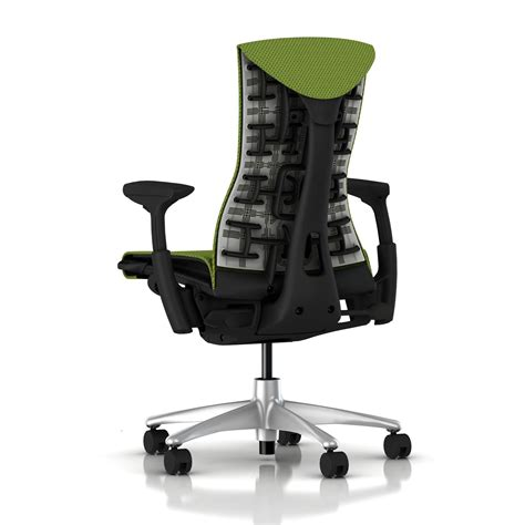 Herman Miller Embody Chair Green Apple Balance With