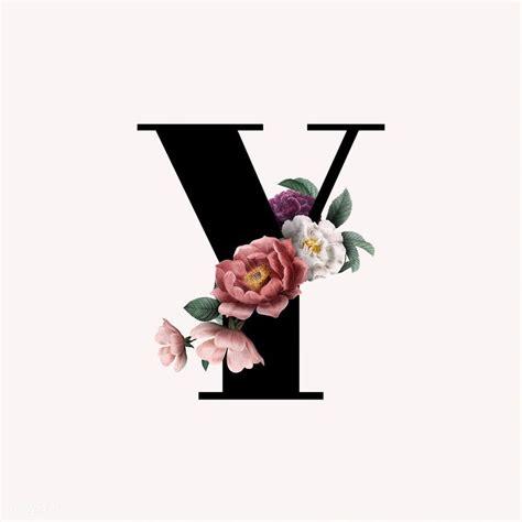 classic  elegant floral alphabet font letter  vector  image  rawpixelcom aum