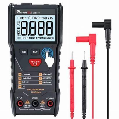 Multimeter Mustool Display Mt110 Measure Digital Rms