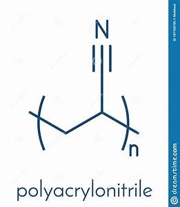Polyacrylonitrile Pan Polymer  Chemical Structure  Also