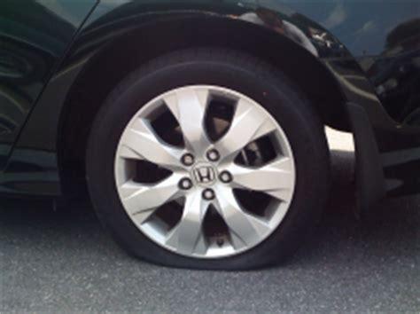 honda recalls civic  tires   quickly  flat