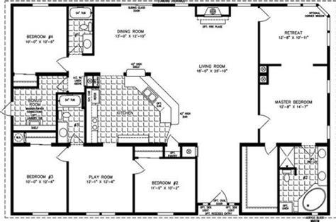 rectangle house plans modular home floor plans square