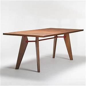Table Jean Prouvé : jean prouve dining table ~ Melissatoandfro.com Idées de Décoration