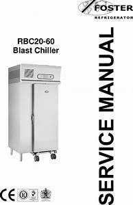 Foster Rbc20 60 Users Manual Rbc 20 Service