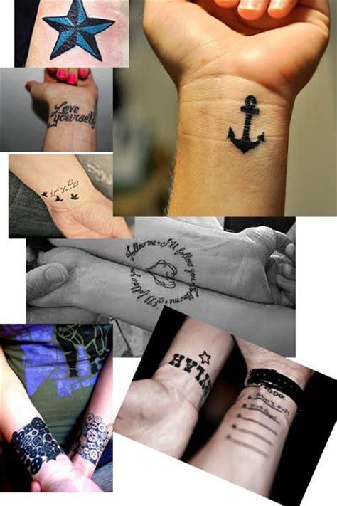 kleine tattoos am handgelenk am handgelenk