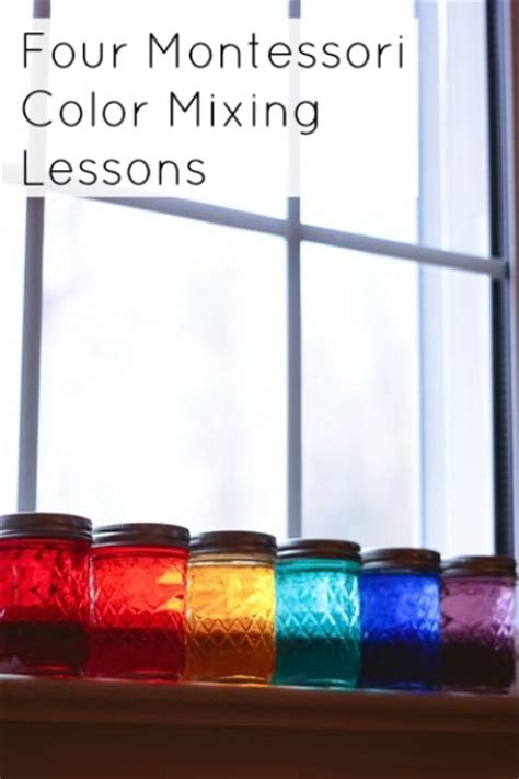 four montessori color mixing lessons this practical 881 | color pic