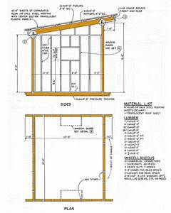 10 U00d712 Lean To Storage Shed Plans  U2013 How To Construct A