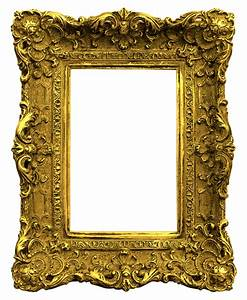Antique Gold Picture Frames | Antique Gold Frame Png Gold ...