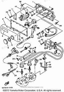 Yamaha Waverunner 1993 Oem Parts Diagram For Electrical