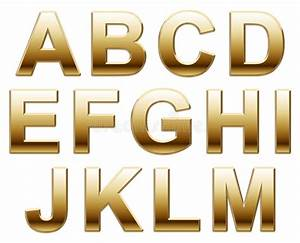 gold letters stock photo image of capitals learning With gold and white letters