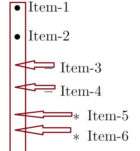 horizontal alignment how to i enumerate horizontal alignment of multiple item tex