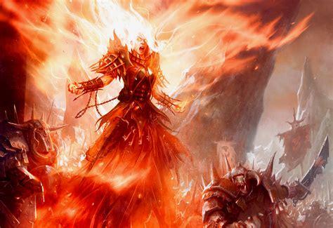 World Of Warcraft Warlock Wallpaper Fire Mage Wallpaper Wallpapersafari