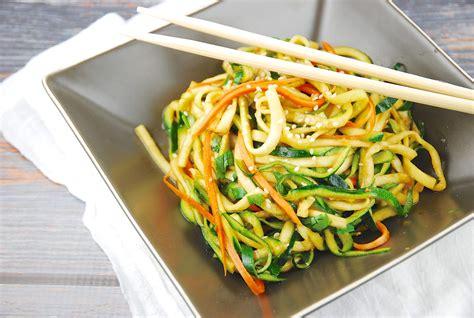 Zucchini Miso Ponzu Noodles Recipe - 3 Points + - LaaLoosh