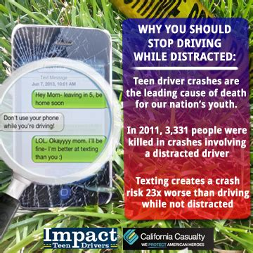 california casualty phone number distracted driving california casualty