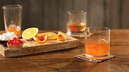 Cocktail Fashioned Garnish Classic Drinks Orange