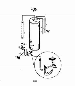 Kenmore 153332461 Gas Water Heater Parts