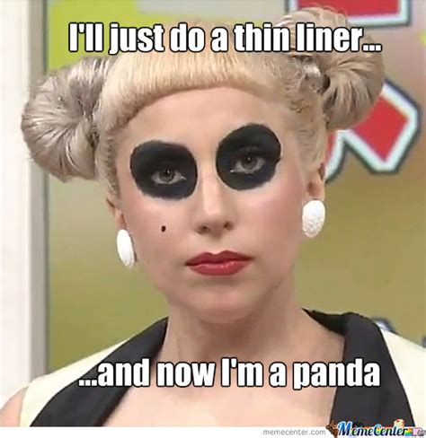 Eyeliner Meme - meme whenever i try doing a thin and even liner i end up like this makeupaddiction