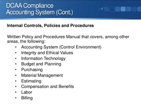 dcaadcma compliance audit  facing  government