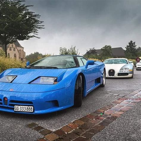 The bugatti has a colorful history and there were six people who played a vital role. Evolution of the species #bugatti #eb110 #veyron #chiron 📷@s.heiligenstein photographie # ...