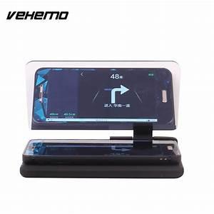 Contact Auto : vehemo head up display car auto hud phone gps navigation image reflector holder universal for ~ Gottalentnigeria.com Avis de Voitures