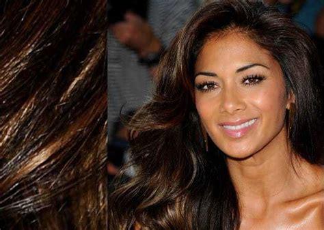 hair color  olive skin tone dark brown eyes