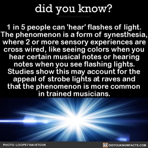 seeing flashes of light did you improving your knowledge daily with