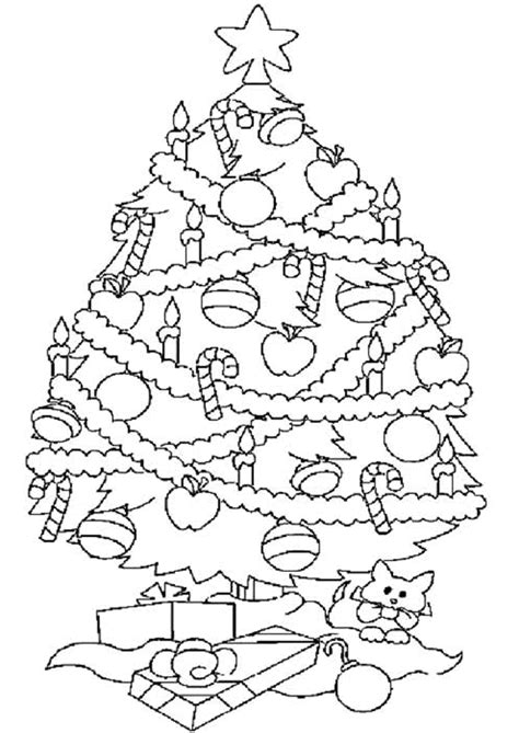 coloriage sapin noel colorier sur hugolescargot hugolescargot