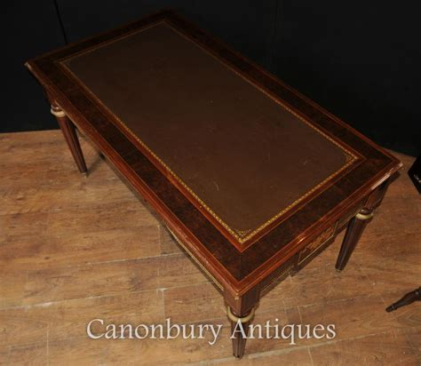table bureau empire desk writing table bureau parquetry inlay