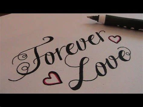 write  cursive fancy letters  love youtube