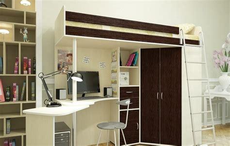 lit mezzanine 140 avec bureau lit mezzanine adulte pour l 39 aménagement du petit appartement