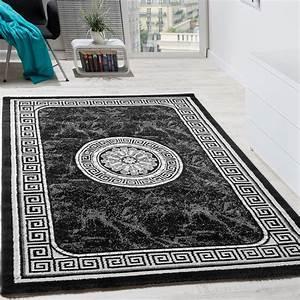 designer teppich mit glitzergarn klassische ornamente With balkon teppich mit tapete grau ornament
