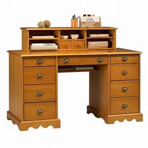 Bureau En Pin : bureau du notaire pin massif miel de style anglais maison et styles ~ Teatrodelosmanantiales.com Idées de Décoration