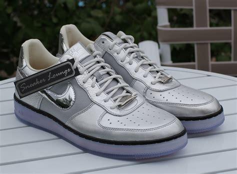 nike air force  downtown chrome swoosh sneakernewscom