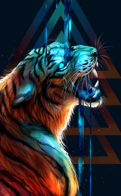 galaxy tiger tumblr