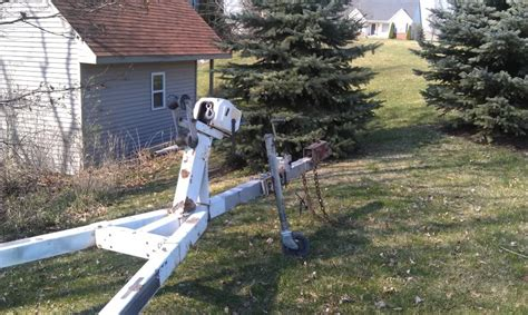 Boat Trailer Winch Post Ontario by Ez Loader Boat Trailer 17 To 20 Ft Classifieds Buy