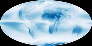 Cloudiest Places on Earth Revealed in Stunning New Image