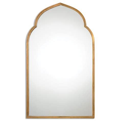 arch mirror kenitra gold arch mirror uttermost wall mirror mirrors