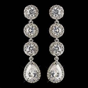arabelle drop earrings bridal hair accessories