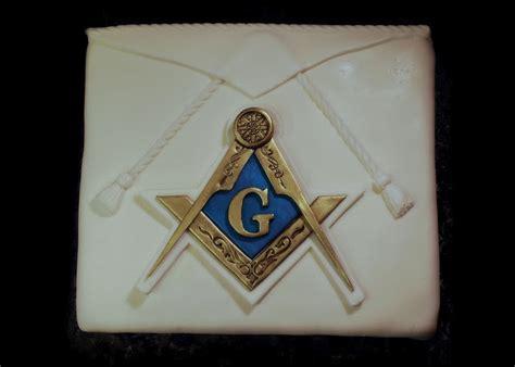 masonic cake apron compass square cakes