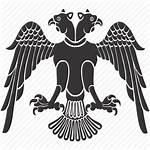 Eagle Heads Emblem Icon Arms Icons Eagles