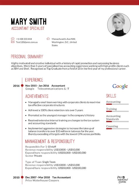 The New World Resume by 100 Best Resumes In The World Free 5 Minute Resume