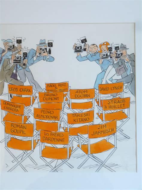 chaise de cinéma chaises de cinéma cannes by stanislas illustration