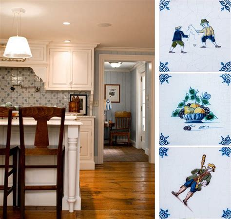 delft kitchen tiles the warm kitchen trends in tile and country 3147