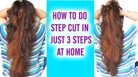 steps to style hair three step with layer cutting in mp3 8879