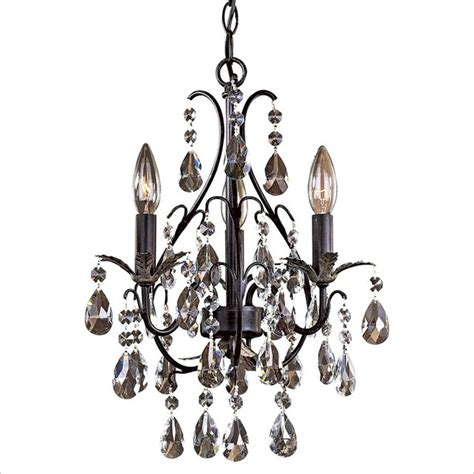 minka lighting lavery 3 light mini chandelier