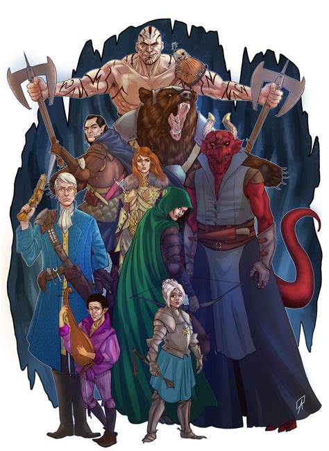 Bring Your Pens to Battle: Critical Role Fan Art Gallery ...